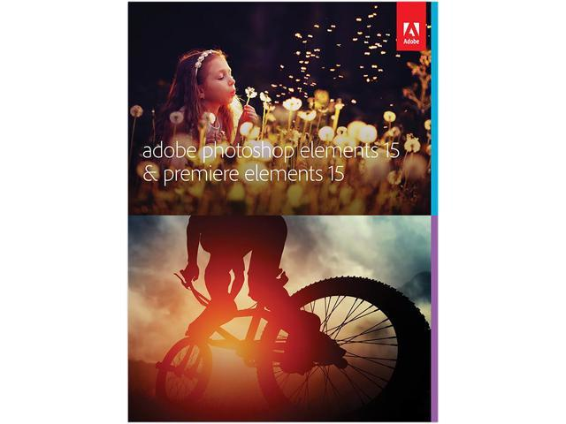 Adobe Photoshop Elements 15 & Premiere Elements 15 Software - Download