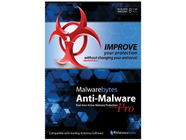 NewEgg - Malwarebytes Anti-Malware Pro Lifetime (1 PC) - $9