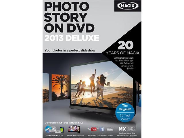 MAGIX PhotoStory on DVD 2013 deluxe - Download