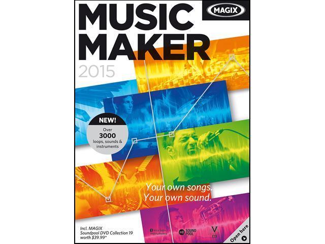 MAGIX Music Maker 2015 - Download
