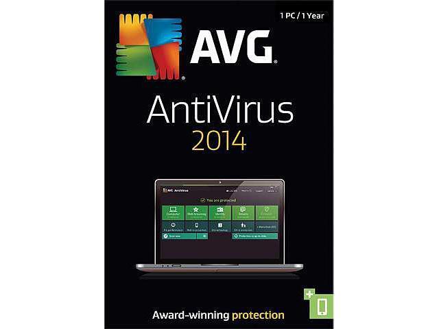 AVG Anti-Virus 2014 - 1 PC - Product Key Card
