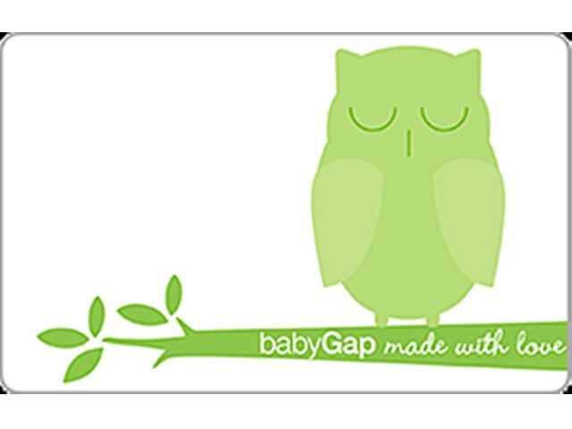 $100 babyGap Gift Card