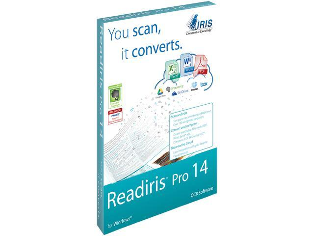 IRIS Readiris Pro 14 OCR for PC - Download
