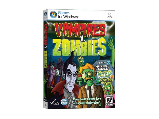 Vampires v. Zombies Jewel Case PC Game