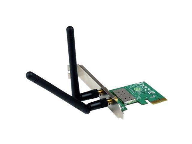 StarTech.com PCI Express Wireless N Adapter - 300 Mbps PCIe 802.11 b/g/n Network Adapter Card - 2T2R 2.2 dBi