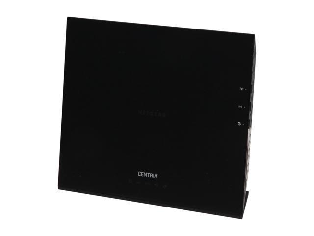 NETGEAR Centria WNDR4720-100NAS All-in-One Back-up, Media Server, N900 Dual Band Gigabit Wi-Fi Router; 2TB Version (WNDR4720)