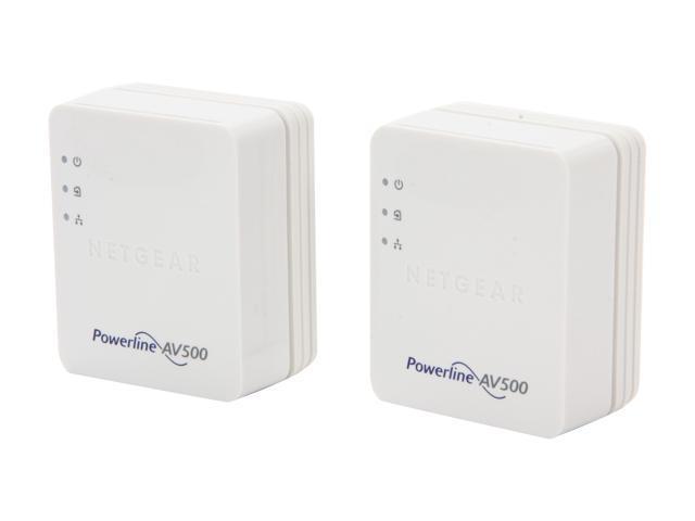 NETGEAR Powerline AV500 Adapter Kit (XAVB5201), up to 500Mbps