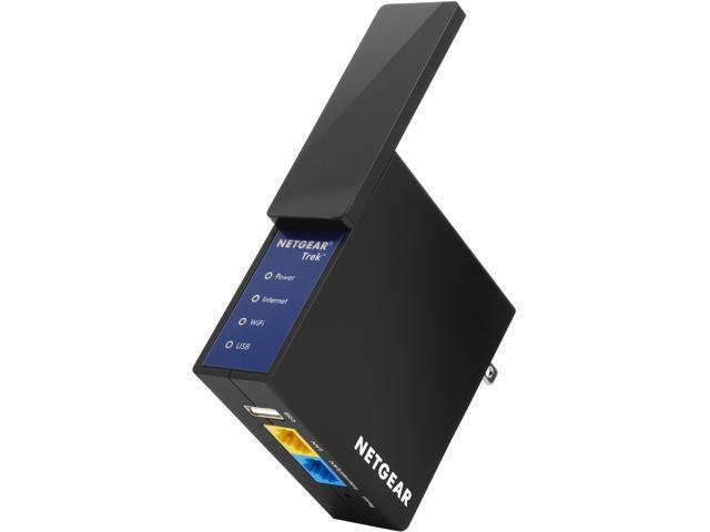 Netgear PR2000-100NAS Trek N300 Travel Router, Range Extender, Ethernet Bridge, Access Point 4 IN 1