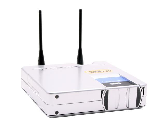 Linksys WRT54GX2 Wireless-G Broadband Router With SRX200 IEEE 802.3/3u, IEEE 802.11b/g
