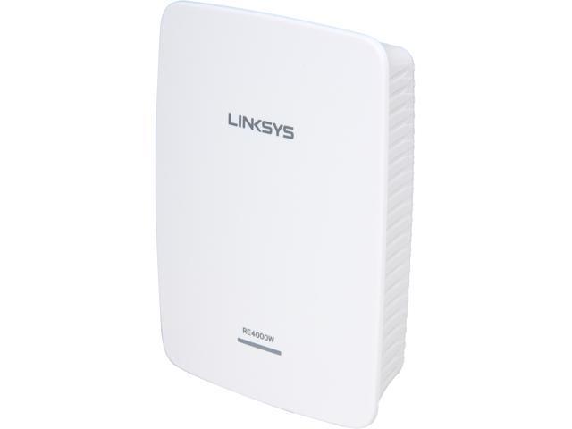 Linksys RE4000W Wireless N600 Dual Band PRO Wi-Fi Range Extender