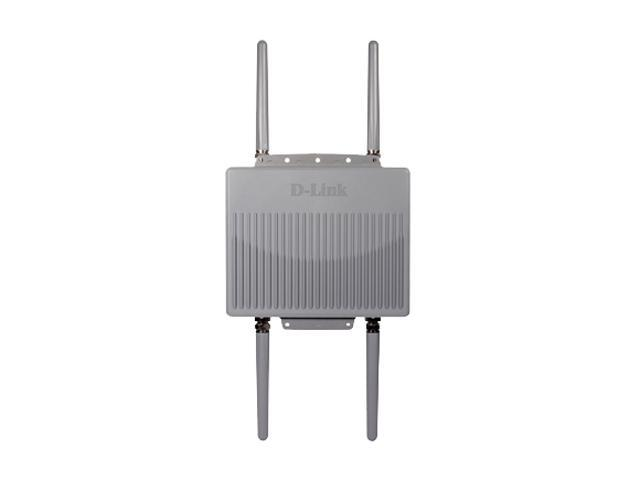 D-Link DAP-3690 AirPremier N Concurrent Dual Band Outdoor Gigabit PoE Access Point with AP Manager Controller – IP67 Enclosure