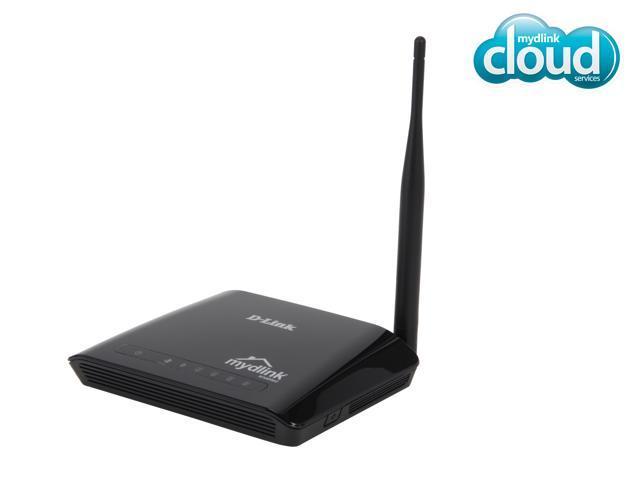 D-Link Cloud Router (DIR-600L), Wireless N150, mydlink Cloud Services