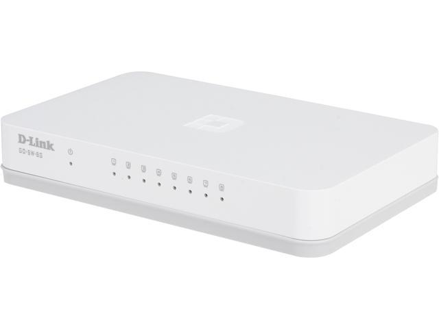 D-Link GO-SW-8G Unmanaged Unmanaged Gigabit Desktop Switch