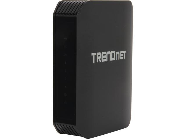 TRENDnet TEW-811DRU AC1200 Dual Band Wireless Router- 4 Gigabit port, , DD-WRT Open Source support