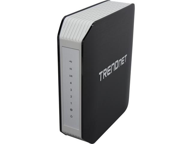 TRENDnet TEW-818DRU AC1900 Dual Band Wireless Router, DD-WRT Open Source support