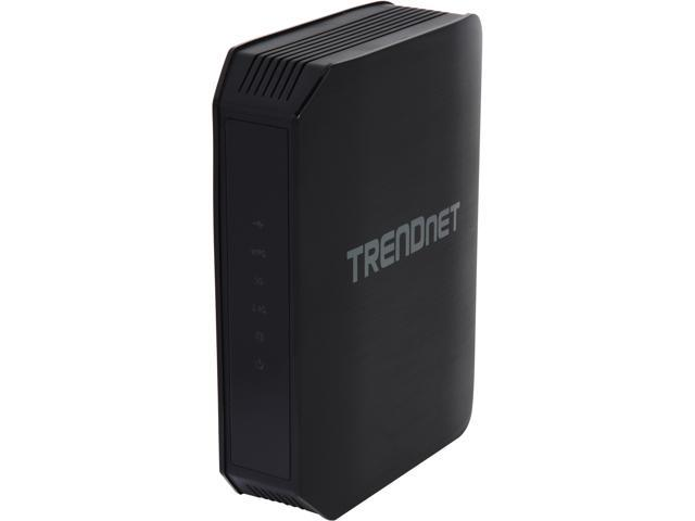 TRENDnet Wireless AC1200 Dual Band Gigibit Router with USB Share Port, TEW-813DRU