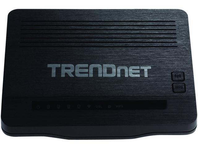 TRENDnet TEW-721BRM N150 Wireless ADSL 2+ Modem Router