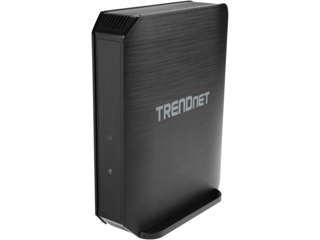 TRENDnet TEW-823DRU AC1750 Dual Band Wireless AC Gigabit Router,2.4GHz 450Mbps+5Ghz 1300Mbps,USB Share Port,IPv6,Guest Network