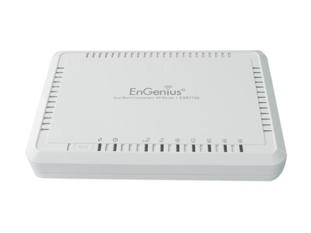 EnGenius ESR7750 2.4GHz / 5GHz Simultaneous IEEE802.11 a/b/g/n Dualband Wireless N Router