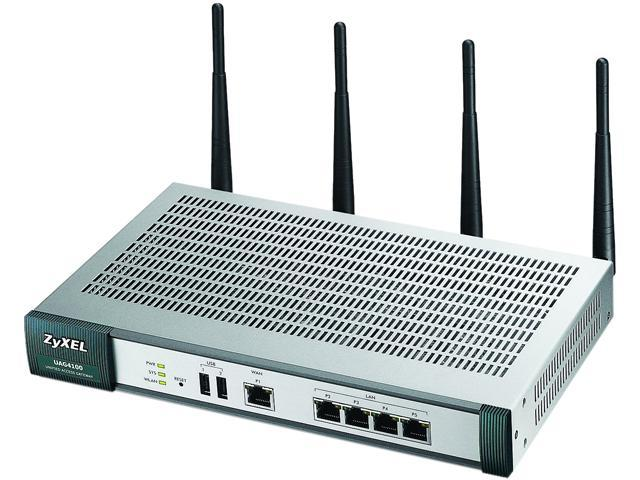 Zyxel UAG4100 Wireless Router - IEEE 802.11n