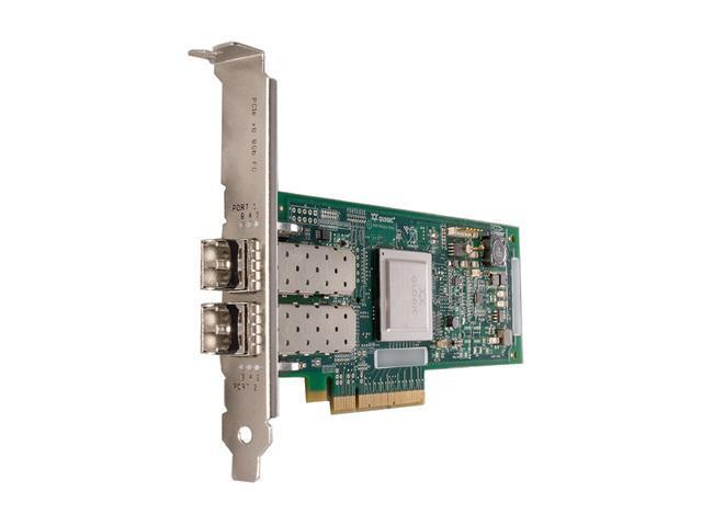 IBM 42D0510 QLogic QLE2562 Fiber Channel Host Bus Adapter 8Gbps PCI-Express 2 x LC
