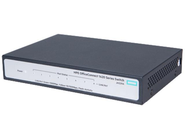 Hpe Officeconnect 1420 8g Switch Jh329a Newegg Ca