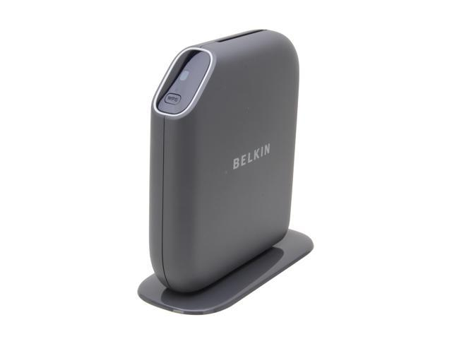 BELKIN F7D8302 Play N600 Concurrent Dual Band Wireless Gigabit Router, with USB Storage & Printer Sharing