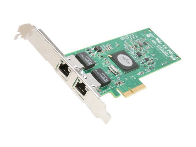 HP 458492-B21 NC382T PCI Express Dual Port Server Adapter 10/ 100/ 1000Mbps PCI-Express x4 2 x RJ45