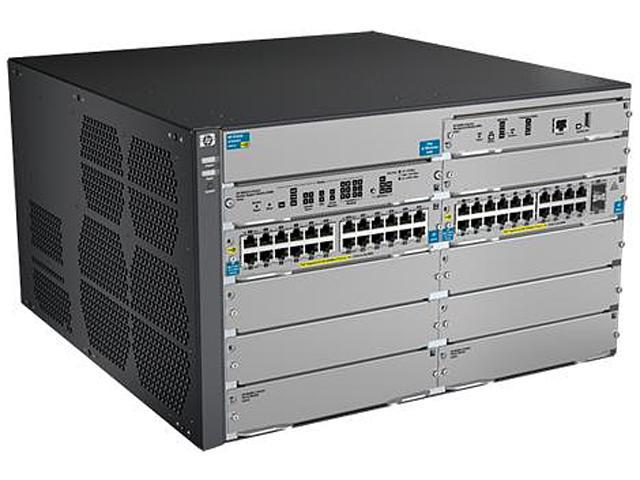 HP J9640A Managed 8206 zl Switch with Premium Software