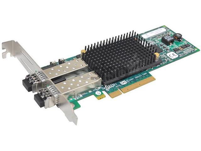HP AJ763B 2-port PCIe Fibre Channel Host Bus Adapter 8Gbps