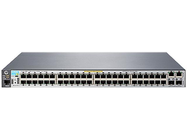 HP 2530 2530-48-PoE+ (J9778A#ABA) Managed Switch