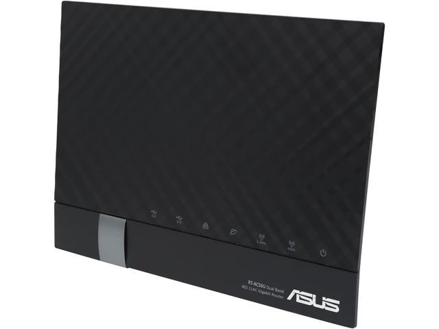 ASUS RT-AC56U Dual-Band Wireless-AC1200 Gigabit Router IEEE 802.11ac, IEEE 802.11a/b/g/n Asus Certified