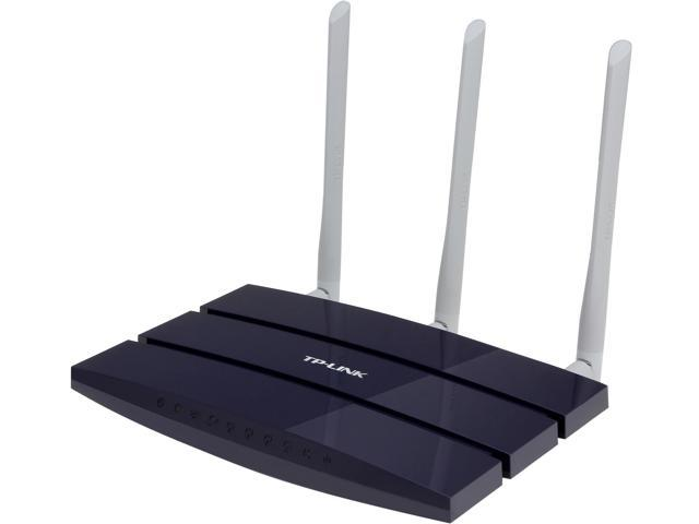 TP-LINK TL-WR1043ND Ultimate Wireless N300 Router, Gigabit, 300Mbps, USB port, 3 Detachable Antennas / IP QoS/ QSS Button