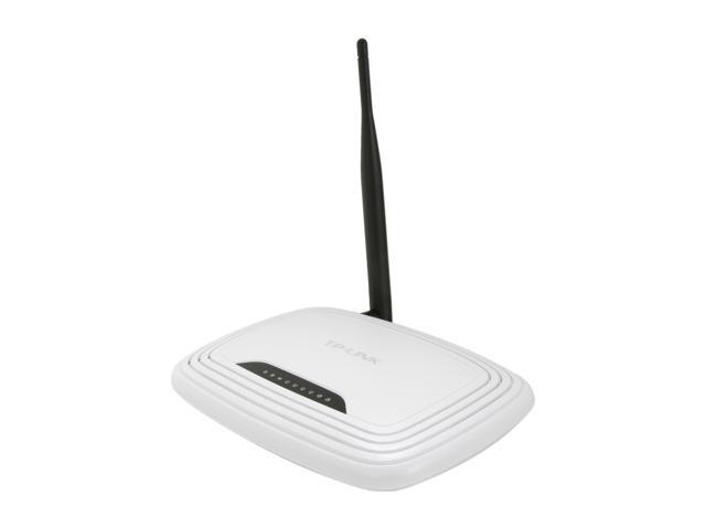 TP-LINK TL-WR741ND Wireless N150 Home Router, 150Mbps, IP QoS, 5 dBi detachable Antenna