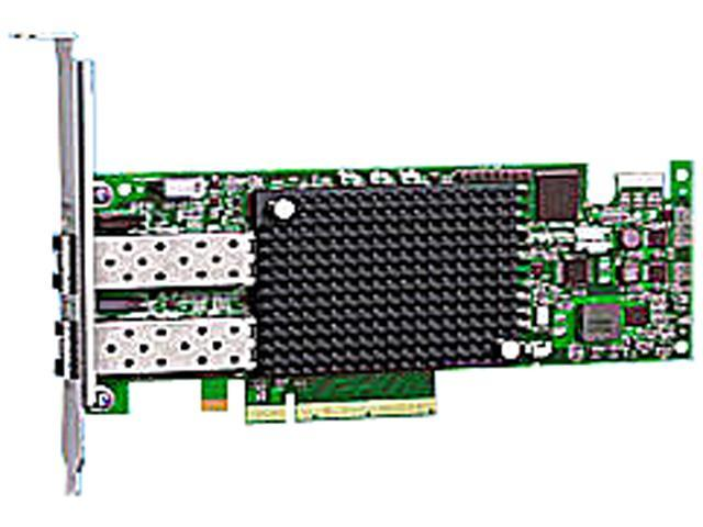 Emulex LPE16002B-M6 LightPulse 2CH 16GB FC PCIE Host Bus Adapter 16Gbps PCI-Express
