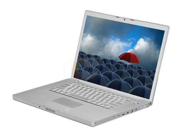 "Apple Laptop MacBook Pro MA610LL/A Intel Core 2 Duo 2.33GHz 2 GB Memory 120 GB HDD ATI Mobility Radeon X1600 15.4"" Mac OS ..."