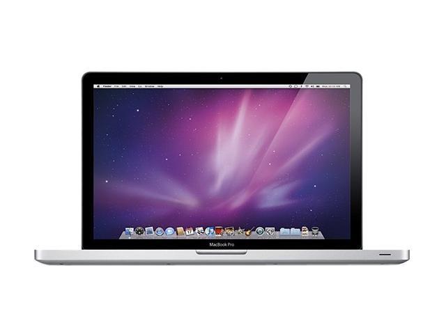 Apple Laptop MacBook Pro MC372LL/A-R Intel Core i5 540M (2.53GHz) 4GB Memory 500GB HDD NVIDIA GeForce GT 330M 15.4