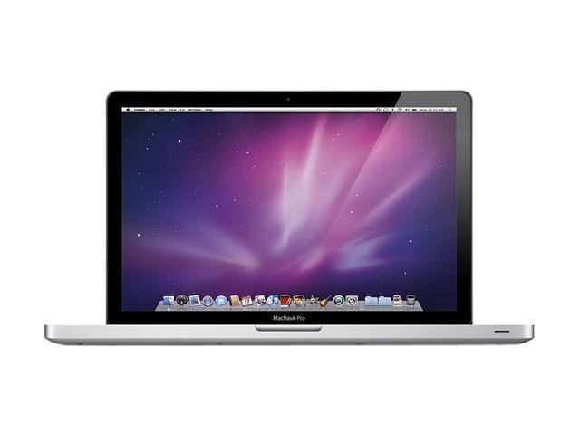 Apple Laptop MacBook Pro MC371LL/A Intel Core i5 520M (2.40GHz) 4GB DDR3 Memory 320GB HDD NVIDIA GeForce GT 330M 15.4