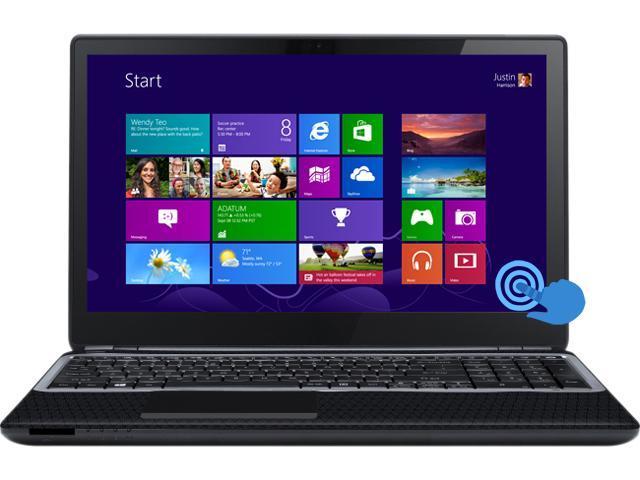 Gateway NV570P10U Notebook Intel Core i5 1.80GHz 4GB Memory 500GB HDD Intel HD Graphics 4000 15.6