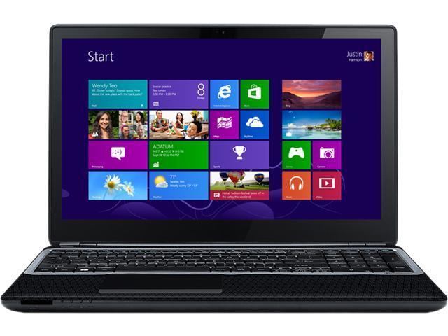 Gateway Laptop NV570P30U Intel Pentium 2117U (1.80GHz) 4GB Memory 500GB HDD 15.6
