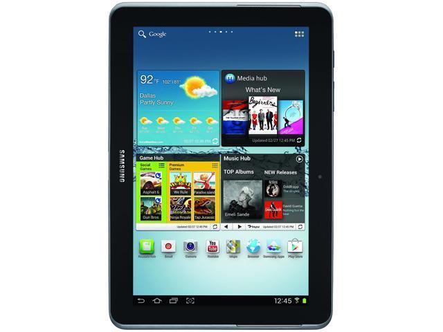 SAMSUNG Galaxy Tab 2 SPH-P500TSASPRR Qualcomm Snapdragon S4 1GB Memory 8GB 10.1