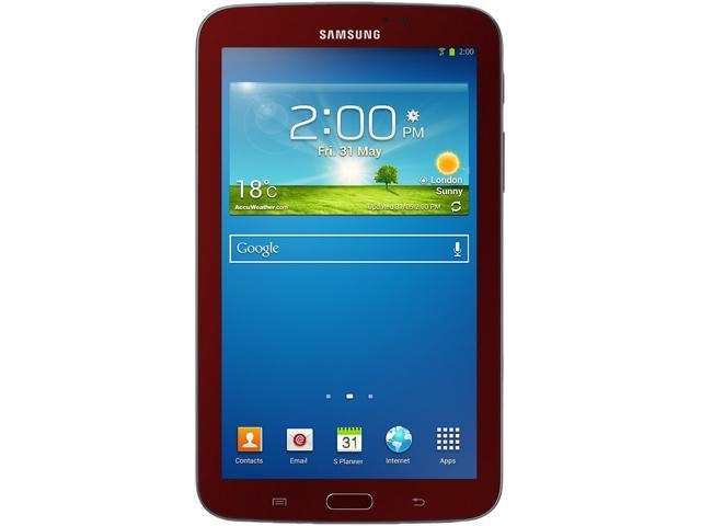SAMSUNG Galaxy Tab 3 SM-T210RGRSXARR Dual Core Processor 1GB Memory 8GB 7.0