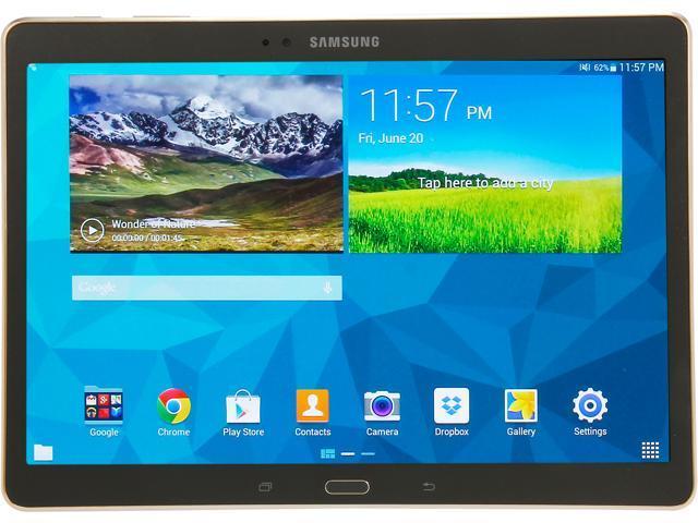 SAMSUNG Galaxy Tab S 10.5 - Exynos 5 Octa Core 3GB Memory 16GB 10.5