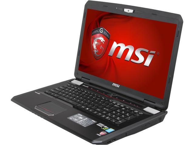MSI GT Series GT70 2OD-001US Gaming Laptop Intel Core i7 4700MQ (2.40GHz) 16GB Memory 750GB HDD 128GB SSD NVIDIA GeForce GTX 780M 4GB GDDR5 17.3
