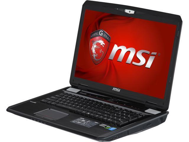 MSI GT Series GT70 DominatorPro-888 Gaming Laptop Intel Core i7 4800MQ (2.70GHz) 32GB Memory 1TB HDD 384GB SSD NVIDIA GeForce GTX 880M 8GB 17.3
