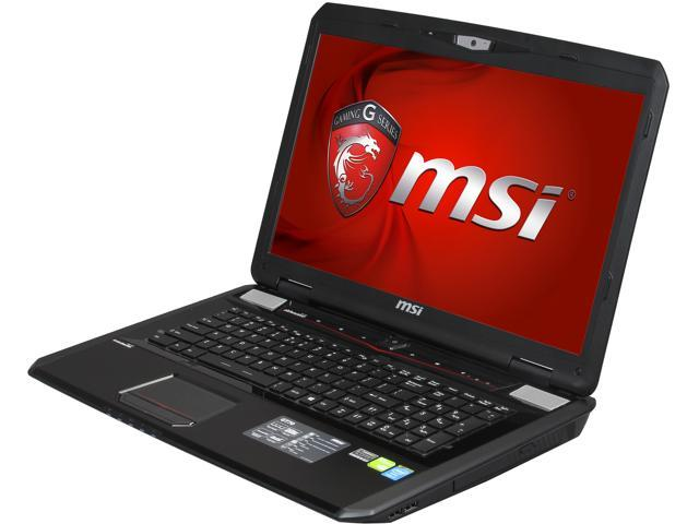 MSI GT Series GT70 Dominator-895 Gaming Notebook Intel Core i7 4800MQ (2.70GHz) 8GB Memory 1TB HDD NVIDIA GeForce GTX 870M 3GB 17.3