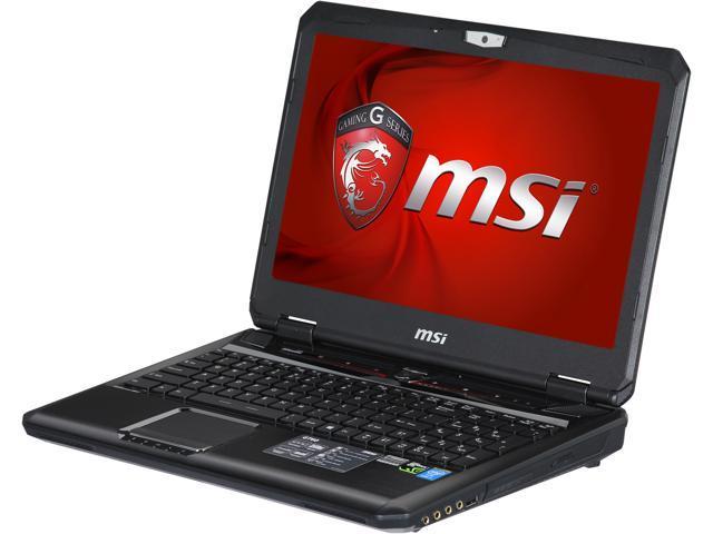 MSI GT Series GT60 Dominator 3K-474 Gaming Laptop Intel Core i7 4800MQ (2.70 GHz) 16 GB Memory 1 TB HDD 128 GB SSD NVIDIA GeForce GTX 870M 3 GB 15.6
