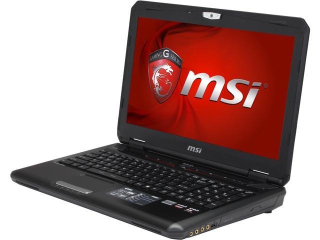 MSI GX Series GX60 Destroyer-280 Gaming Notebook AMD A-Series A10-5750M (2.50GHz) 8GB Memory 1TB HDD AMD Radeon R9 M290X 2GB 15.6