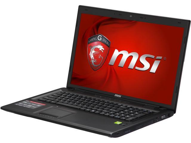 MSI GP70 Leopard-010 Gaming Laptop Intel Core i5 4200M (2.5GHz) 8GB Memory 1TB HDD NVIDIA GeForce GT 840M 2GB 17.3