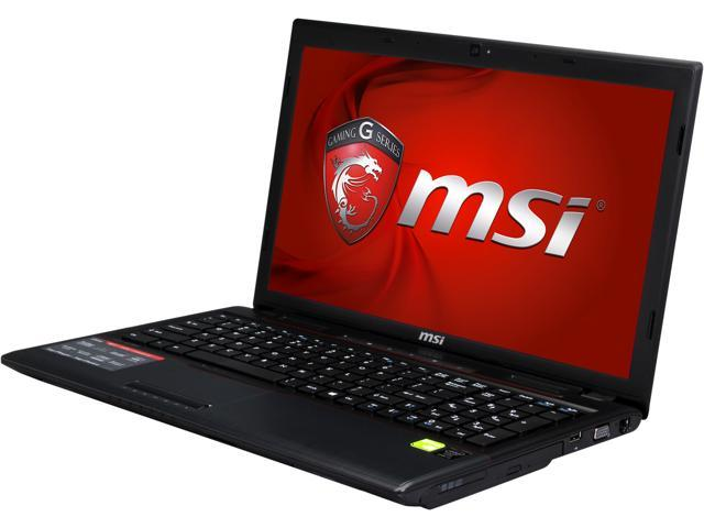 MSI GP60 Leopard-010 Gaming Notebook Intel Core i5 4200M (2.5GHz) 8GB Memory 750GB HDD NVIDIA GeForce GT 840M 2GB 15.6